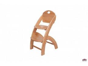 Dětská rostoucí židle KLÁRA 1 buk