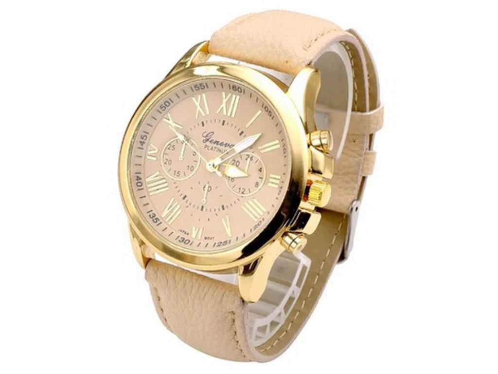 Unisex kožené hodinky Geneva Atraktivnost - 5 barev - Načančaná.cz e3aabb9091