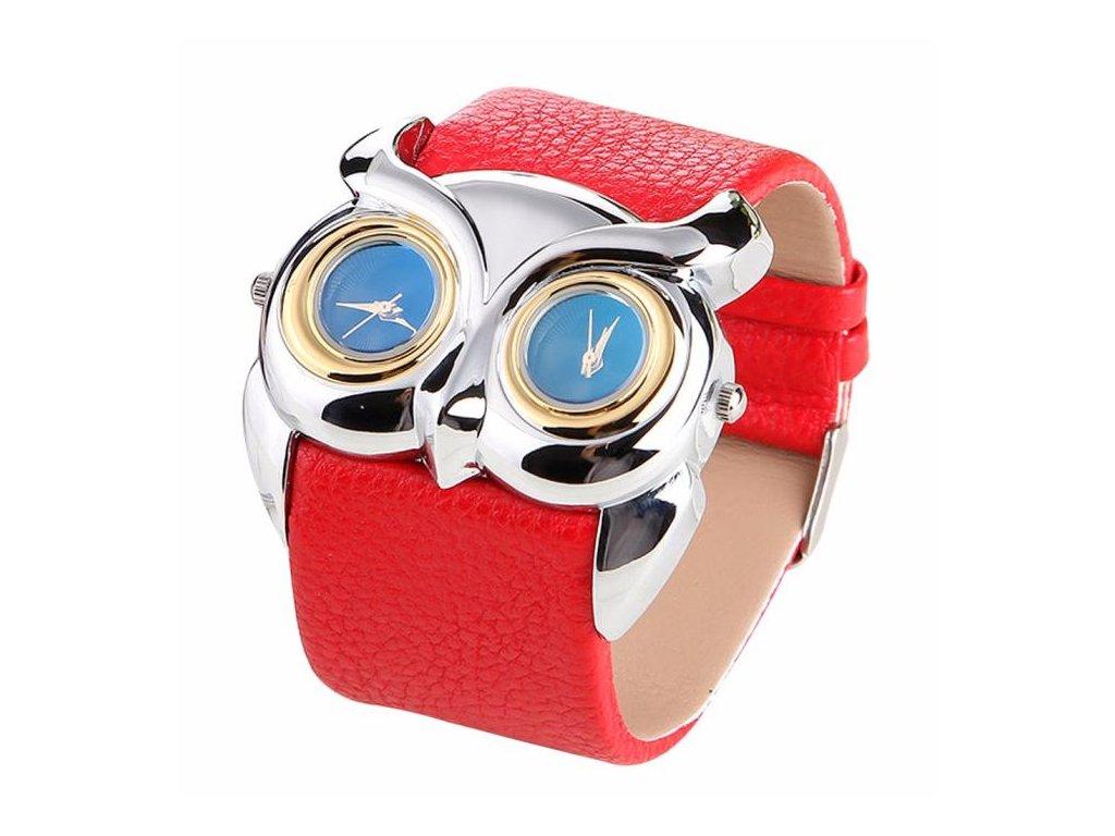 7870eb5c4 Kožené hodinky Sova bílé Kožené hodinky Sova černé Kožené hodinky Sova  červené ...
