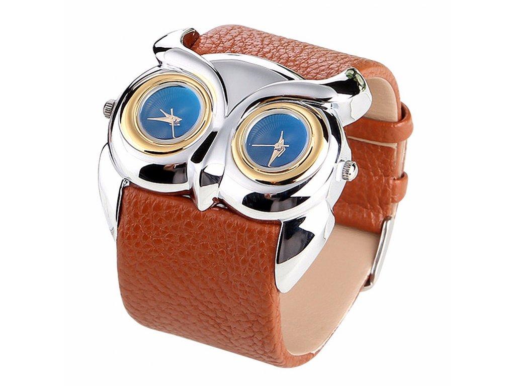 2074eeaba ... Kožené hodinky Sova hnědé Kožené hodinky Sova bílé ...