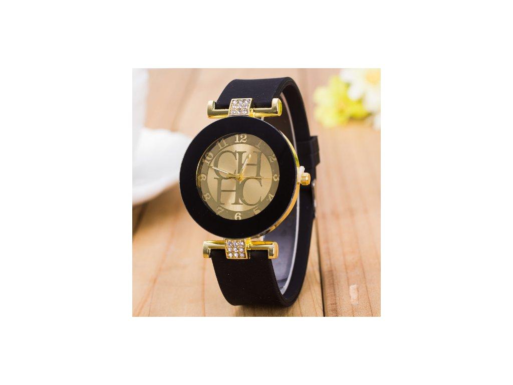 Dámské elegantní hodinky s krystaly - 3 BARVY - Načančaná.cz cd6417800e