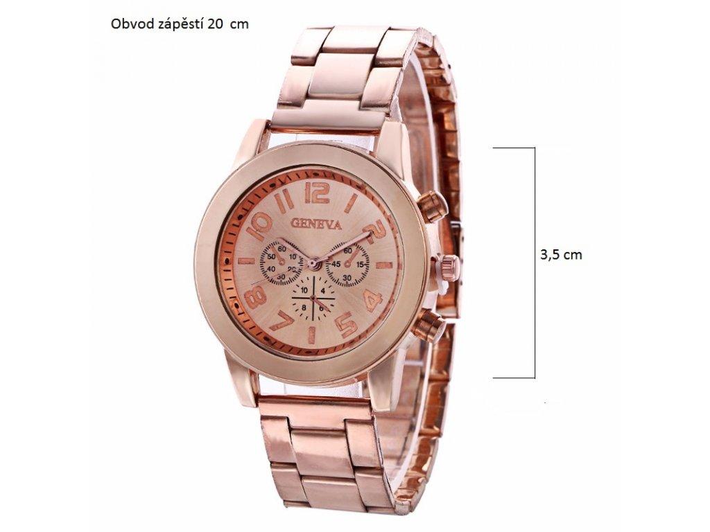 5868848adc Dámské Geneva hodinky kovové - Načančaná.cz
