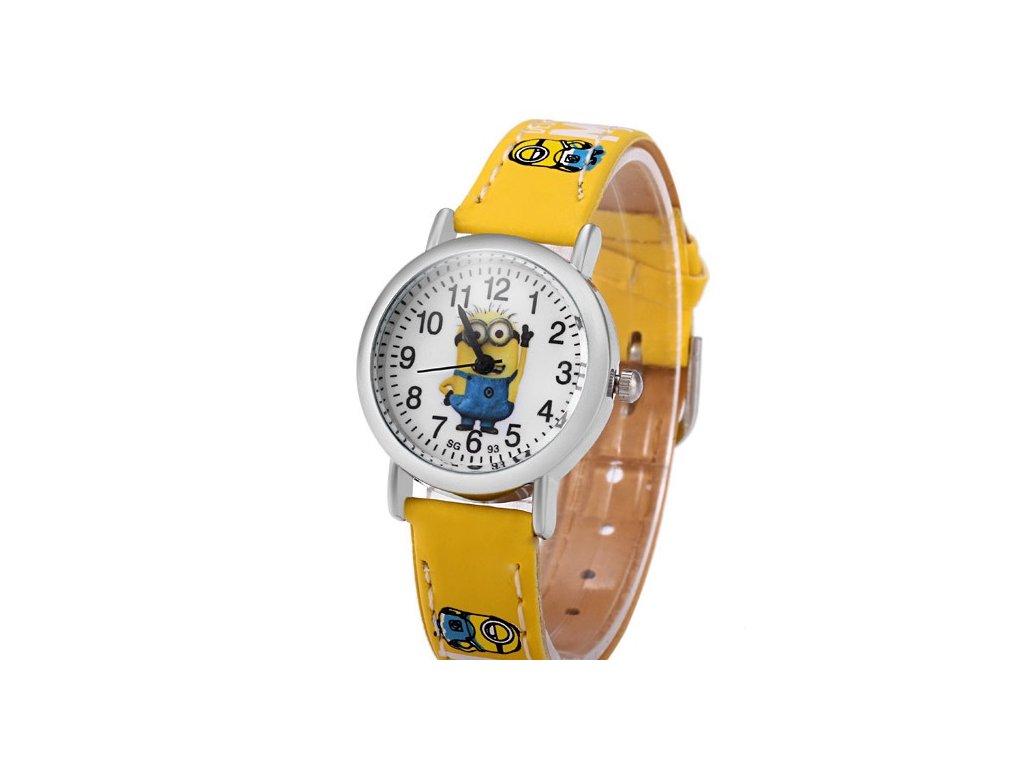 692183595aa Dětské hodinky Mimoni světle modré Dětské hodinky Mimoni žluté ...