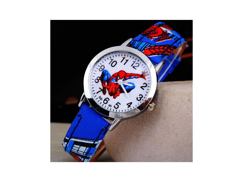 Dětské hodinky Spiderman II - Načančaná.cz f2c511c8399