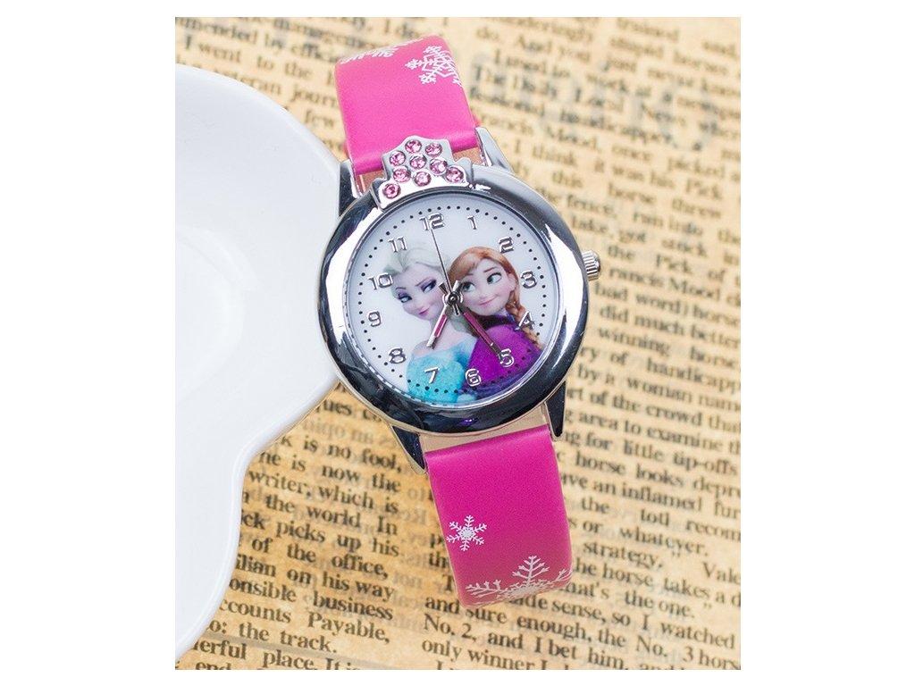 b6bde53b3 Dětské hodinky Anna a Elsa Frozen - 2 barvy - Načančaná.cz
