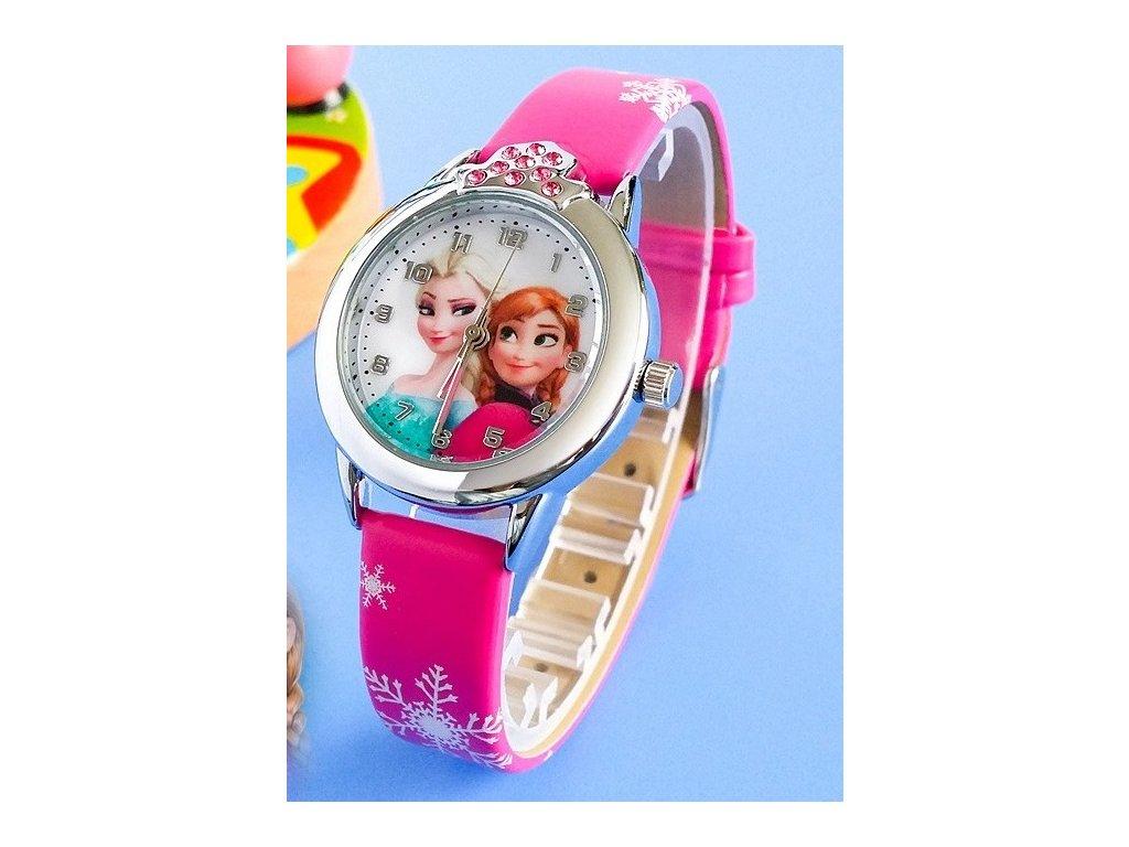 Dětské hodinky Anna a Elsa Frozen - 2 barvy - Načančaná.cz 0f9f49a7ea5