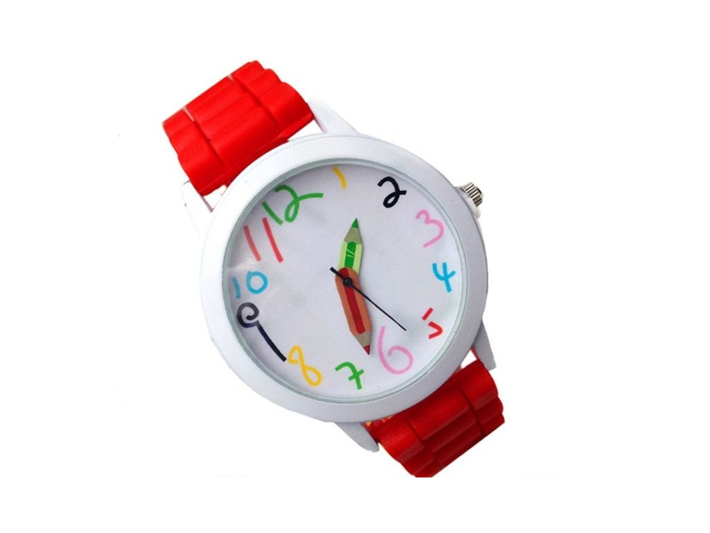 Dětské hodinky Pastelky - 6 barev - Načančaná.cz 07a0b3e9521