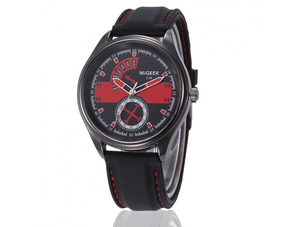 944aca57ff3 Pánské Prošívané hodinky - 3 barvy - Načančaná.cz