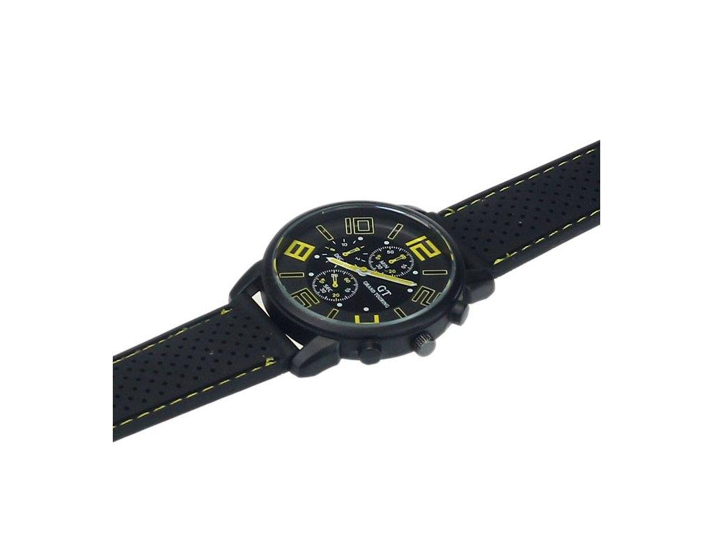 31f264a27fb Prošívané Pánské hodinky modré Prošívané Pánské hodinky žluté ...