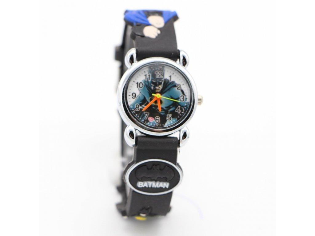 Dětské černé hodinky Batman - Načančaná.cz c30026d757