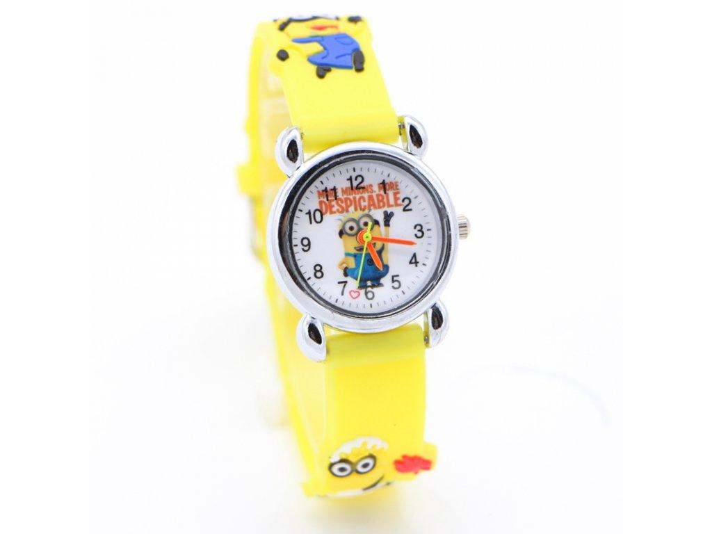 b4effac6f1f Dětské žluté hodinky Mimoni II - Načančaná.cz