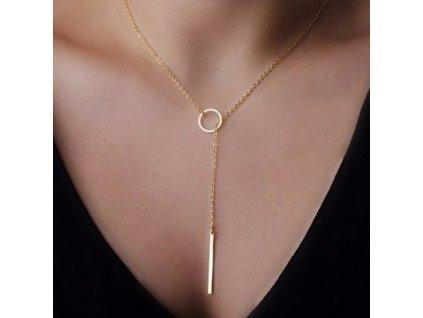 Nastavitelný náhrdelník očko