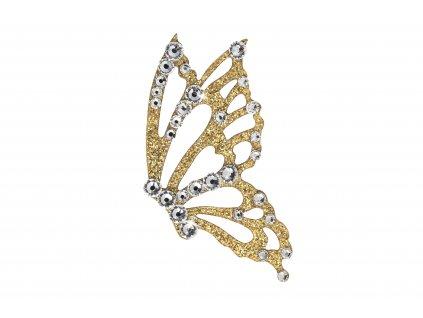 Dámské šperky na tělo Motýl crystal