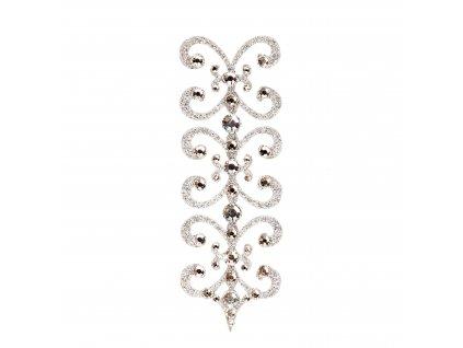 Dámské šperky na tělo stříbrné Florenc crystal
