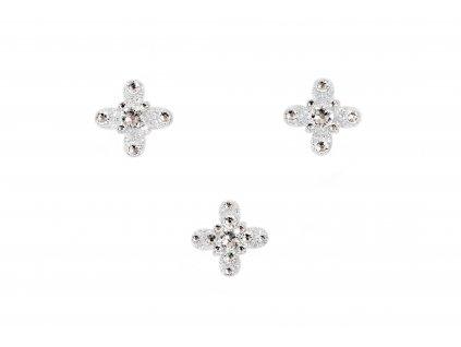 Dámské šperky na tělo stříbrná Verona crystal