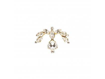 Dámské šperky na tělo zlatá Scarlett