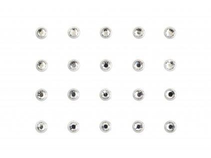 Dámské šperky na tělo stříbrný Rhinestones