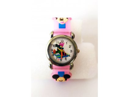 Dětské Disney růžové hodinky Minnie na dece
