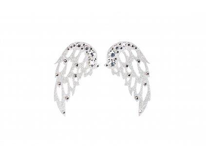 Dámské šperky na tělo stříbrná Křídla