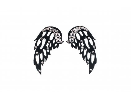 Dámské šperky na tělo Černá Křídla