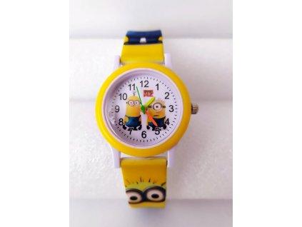 Dětské žluté hodinky Překvapení Mimoni