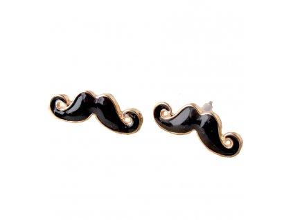 Náušnice Movember