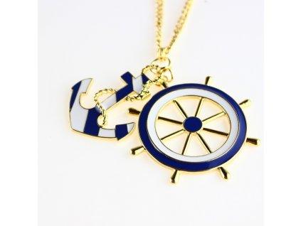 Náhrdelník Modrý námořník