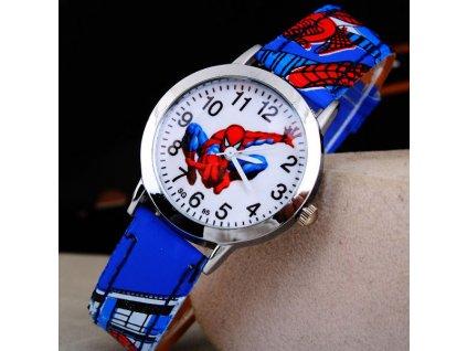 Dětské hodinky Spiderman II modré