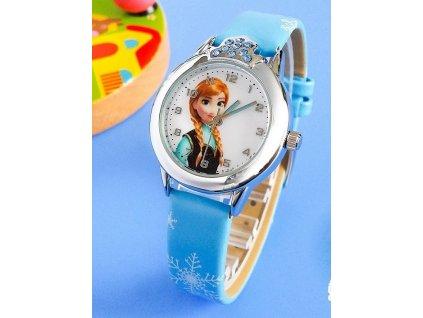 Dětské hodinky Anna Ledové království