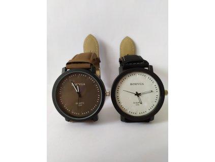 Semišové hodinky unisex