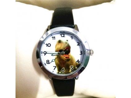 Dětské hodinky Dinosaur černé