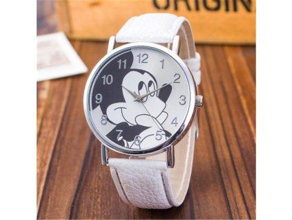 Dětské hodinky Mickey bílé