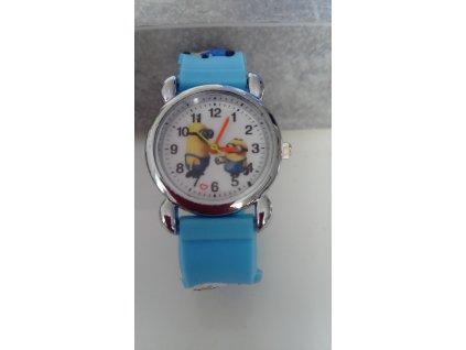 Dětské modré hodinky Mimoni II
