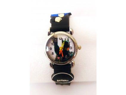 Dětské černé hodinky hrdina Batman