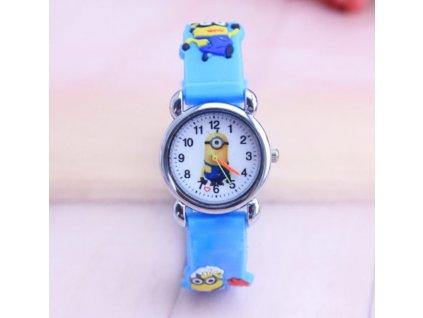 Dětské modré hodinky Mimoň II