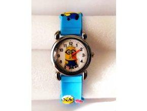 Dětské modré hodinky Mimoň