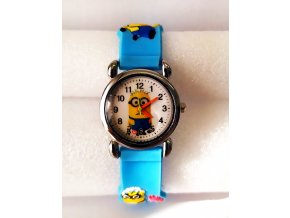 Dětské modré hodinky Ospalý Mimoň
