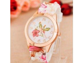 Dámské Květinové hodinky