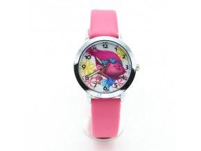 Dětské růžové hodinky Troll