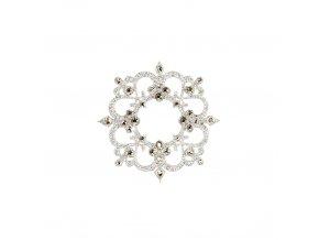 Dámské šperky na tělo stříbrné Rome crystal