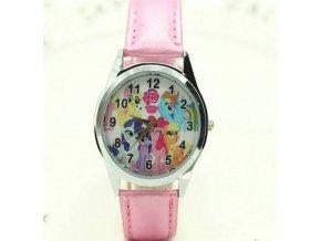 Dětské růžové hodinky Pohádka Můj malý Pony