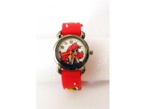 Dětské červené hodinky Ariel