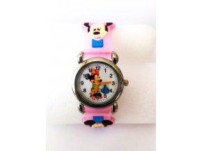 Dětské Disney růžové hodinky Minnie