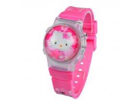 Dětské 3D digitální hodinky Hello Kitty