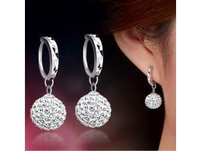 Náušnice Diamantové koule
