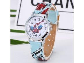 Dětské světle modré hodinky Spiderman II