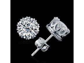 Náušnice Diamantová třpytka