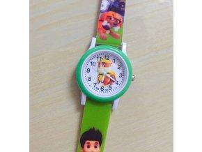 Dětské zelené hodinky Tlapková patrola II