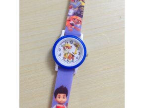 Dětské modré hodinky Tlapková patrola II