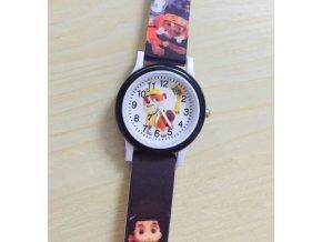 Dětské černé hodinky Tlapková patrola II